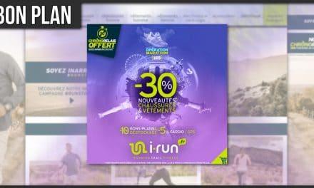 Opération Marathon chez I-Run pour ce début de Printemps