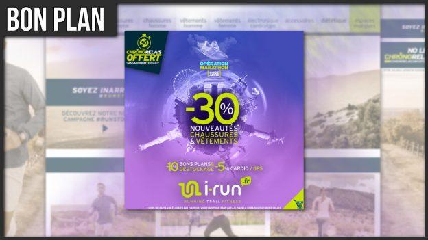 code promo opération marathon i run réduction running trail