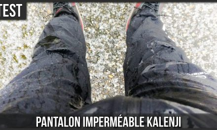 Test pantalon imperméable trail running Kalenji