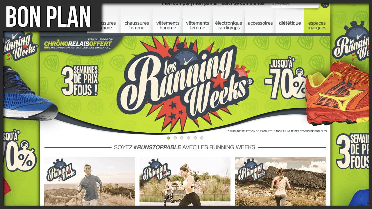 I-Run – Les Running Weeks Printanières