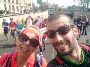 marathon paris 2018 running c'est bien d'être bien