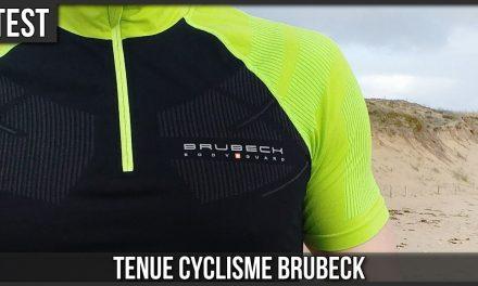 Test tenue cyclisme Brubeck