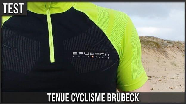 test tenue velo cyclisme brubeck c'est bien d'être bien