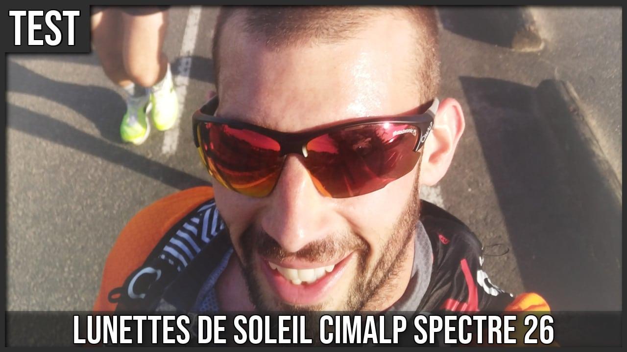 Test lunettes de soleil Cimalp Spectre 26