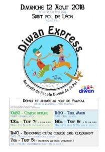 inscription diwan express 2018 trail running bretagne finistere