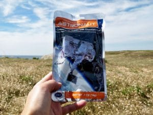 test glace lyophilisee astronaut foods