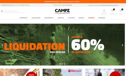 Liquidation des stocks chez Campz