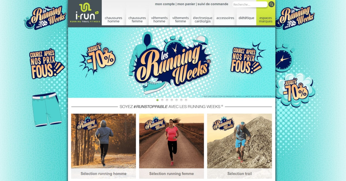 Les Running Weeks d'Automne chez I-Run