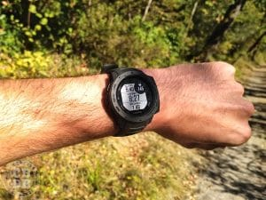 test montre garmin instinct running trail randonnée outdoor