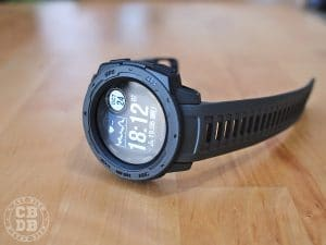 test montre garmin instinct running trail randonnée outdoor