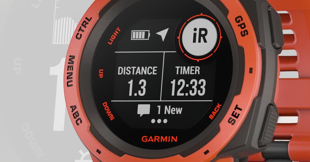 Garmin Instinct, la montre parfaite pour course à obstacles ? - C