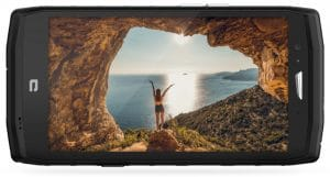 annonce crosscall trekker x4 smartphone outdoor action cam