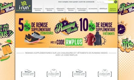 Code Promo sur les Running Weeks I-Run