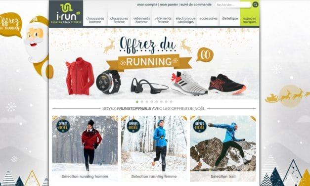 Les Offres de Noël chez I-Run