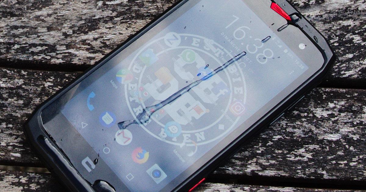 Test du smartphone Crosscall Action-X3