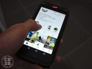 test smartphone crosscall action-x3 outdoor running trail