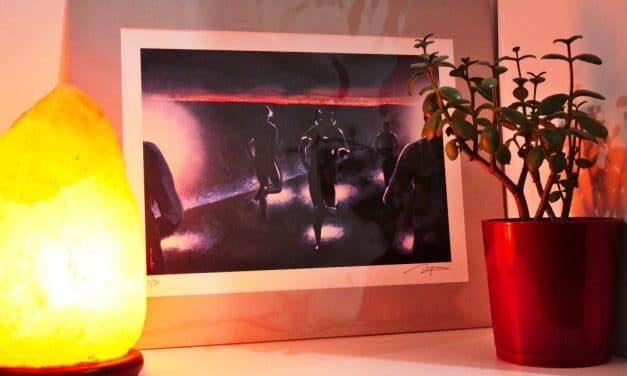 Découvre Vincent Dogna et gagne ton poster Art de la  Course