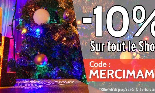 Digère Noël sur Le Shop !