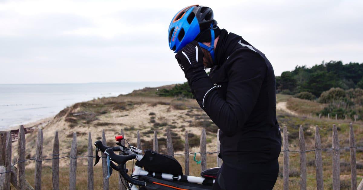 Mon matos pour faire du vélo sans avoir froid cet hiver