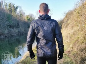 test veste imperméable trail running norrona bitihorn ultra light dri 3