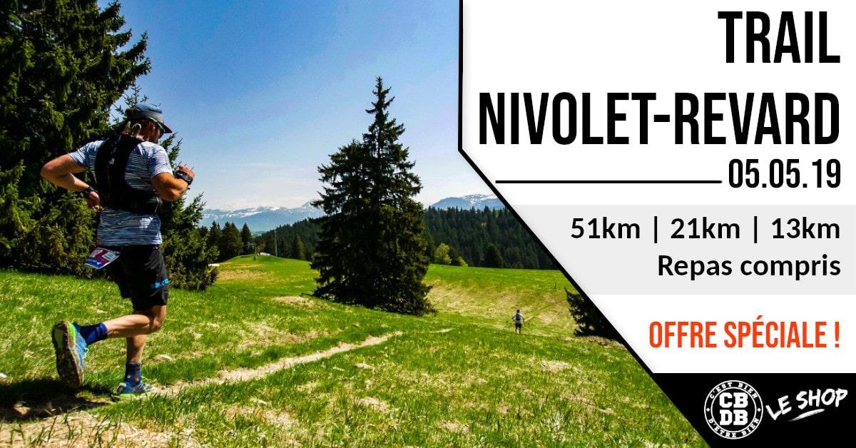 Ton dossard promo pour le Trail Nivolet Revard