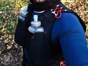 test gilet hydratation trail running freexion free race