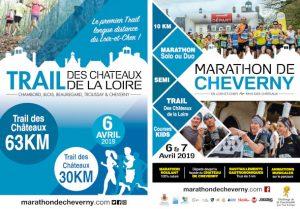concours trail châteaux de la loire marathon de cheverny running jogging international