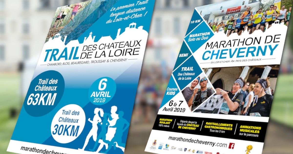 Concours Trail des Châteaux de la Loire & Marathon de Cheverny