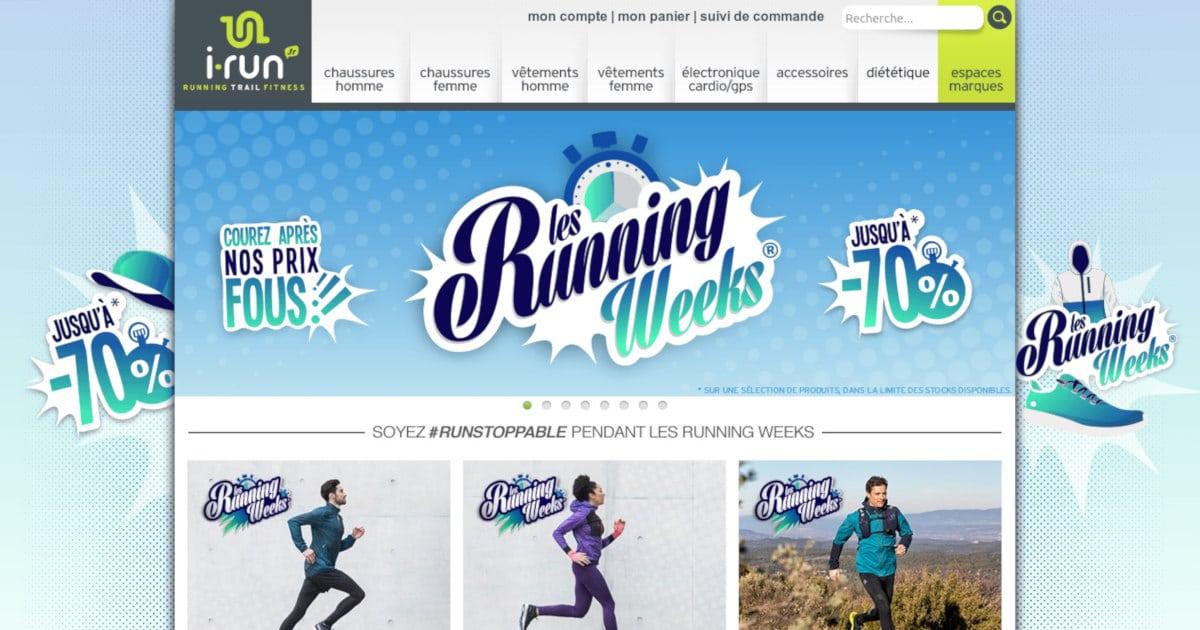Les Running Weeks du printemps