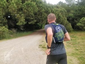test kinetik sputnik sac gilet trail running