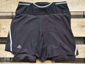 test short baggy cuissard confort kalenji trail running