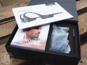 unboxing nouveau aftershokz aeropex ecouteurs bluetooh sport running trail triathlon conduction osseuse