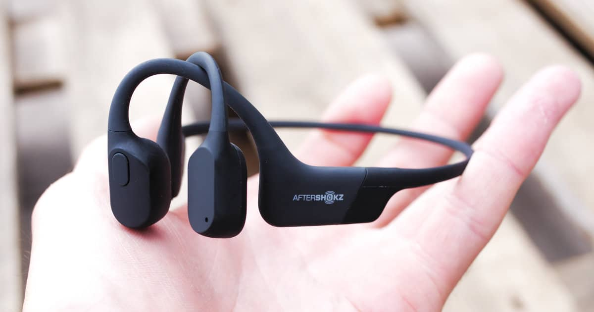 Unboxing du Aeropex d'Aftershokz