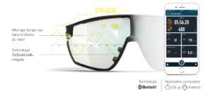 julbo evad-1 lunettes de soleil connectées sport trail running cyclisme triathlon