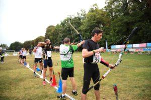 run archery de france 2019 tir à l'arc course à pied biathlon