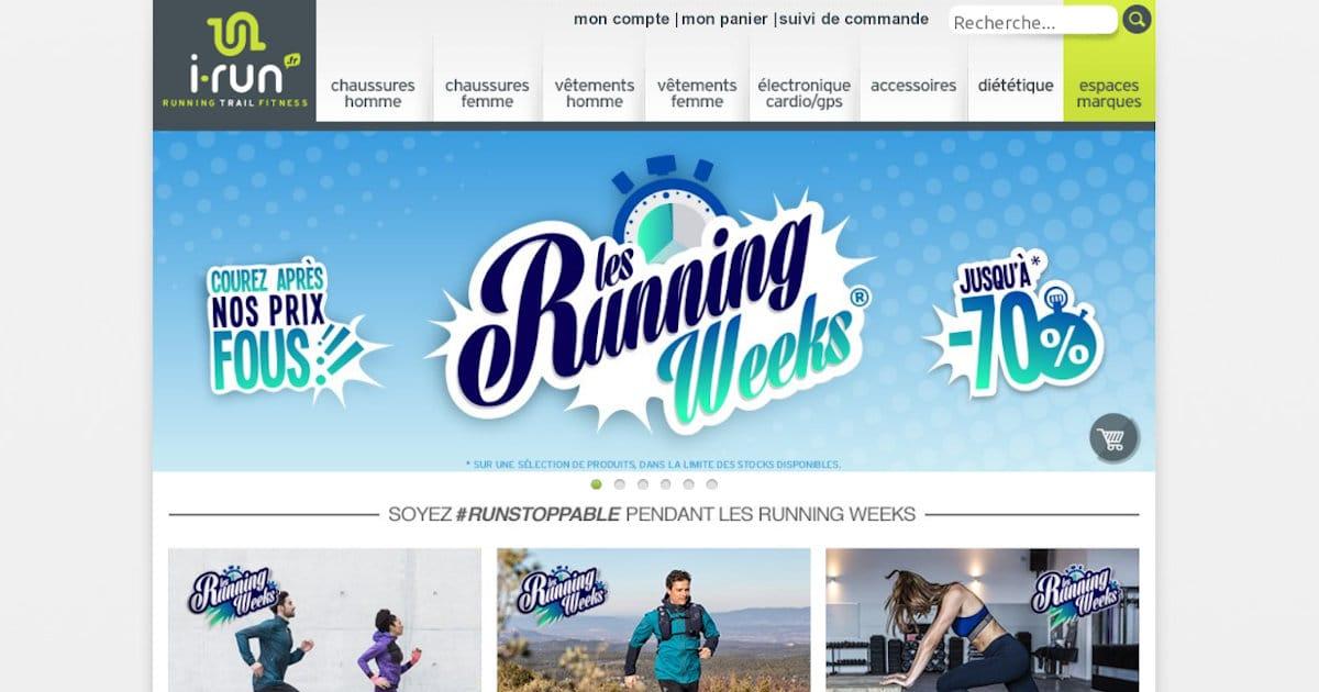 Les Running Weeks d'automne chez I-Run