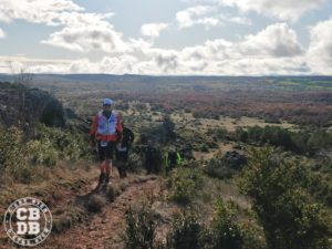 astragale hivernale des templiers trail running larzac