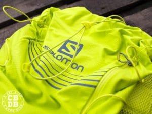 test sac trail running salomon adv skin 12 set