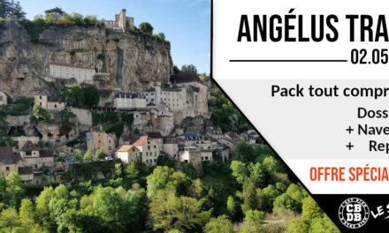 Profite d'un pack tout compris pour l'Angélus Trail !