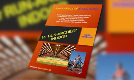 L'INSEP accueille le 1er Run Archery Indoor