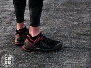 test chaussettes running trail cimalp toe socks
