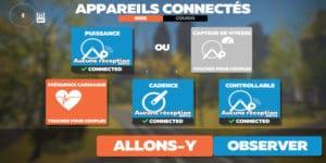 decouverte zwift logiciel home trainer cyclisme virtuel jeu