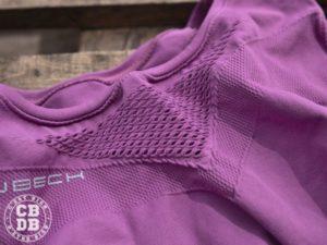 test tenue fitness brubeck fresh running velo femme sport