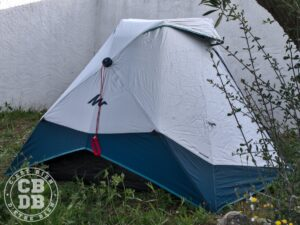 test tente quechua 2 seconds easy fresh & black camping facile