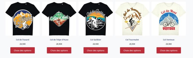 code promo t-shirts commeunvelo
