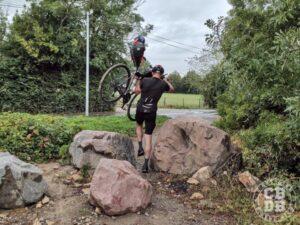 portage velo bikepacking niort