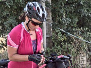 fin de parcours bikepacking difficile