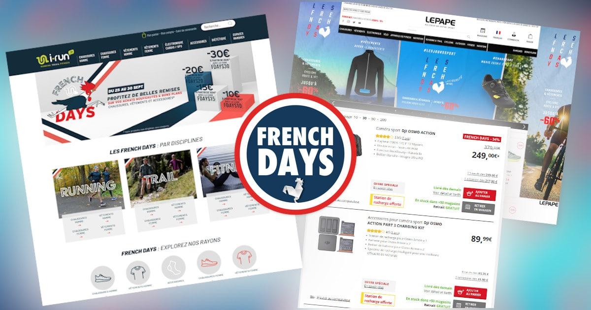 Les French Days Sportifs d'automne !