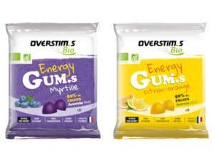 nouveauté overstims energy gums