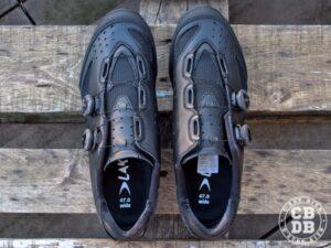 test chaussures vélo spd vtt lake cycling mx238